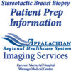 Icon of Stereotactic Breast Biopsy Patient Prep Information