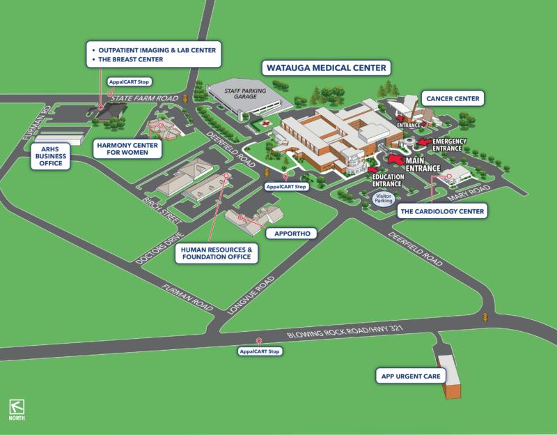 Campus_Map_Watauga