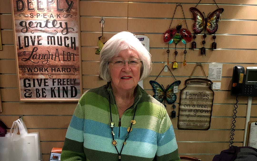 Volunteer Spotlight: Carol Hinshaw