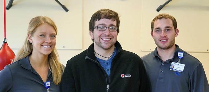 Graduate student credits Thrive program for saving his life