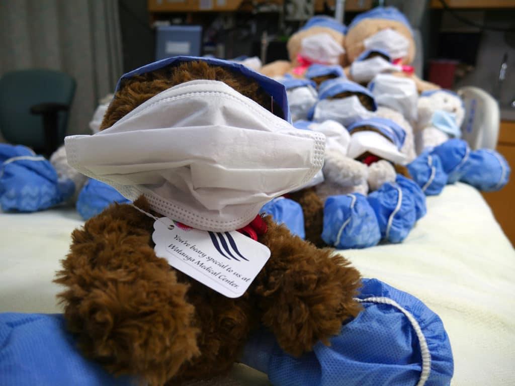 Bear Toy at Watauga Medical Center