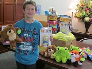 D'Artagnan's Gifts Help Pediatric Patients at Watauga Medical Center