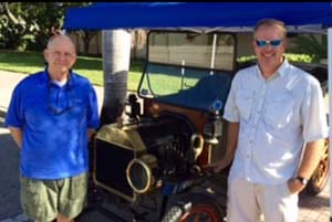 Graham_Haile_and_son-in-law_Aaron_Bokelmann_with_Model_T