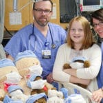 Local 11-year-old starts a beary special program at Watauga Medical Center
