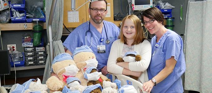 Local 11-year-old starts a beary special program at Watauga Medical Center
