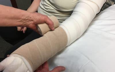Compression Bandaging for Caregiver