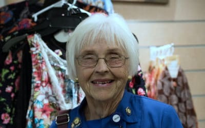 Barbara Robinson: 12 years of volunteer service