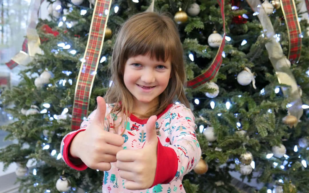 Local girl gives a special gift to cancer patients this Christmas