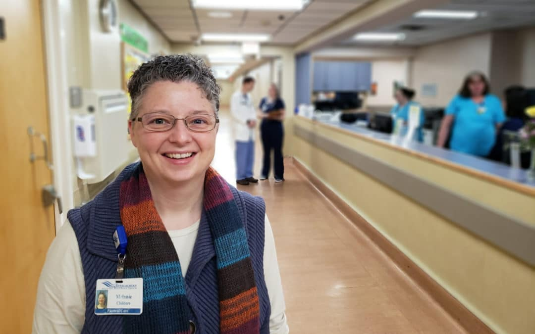 The Melanie Childers Story: Hospital Chaplain Celebrates 20th Year of Service