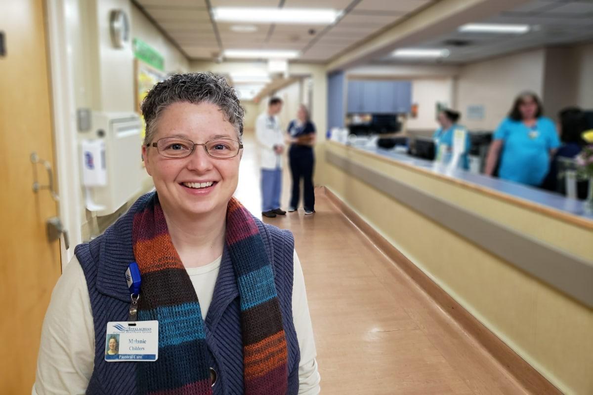 Melanie Childers, director of pastoral care
