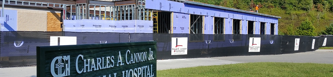 Cannon Memorial Hospital Renovations