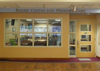 Inside Entrance: Baker Center for Primary Care
