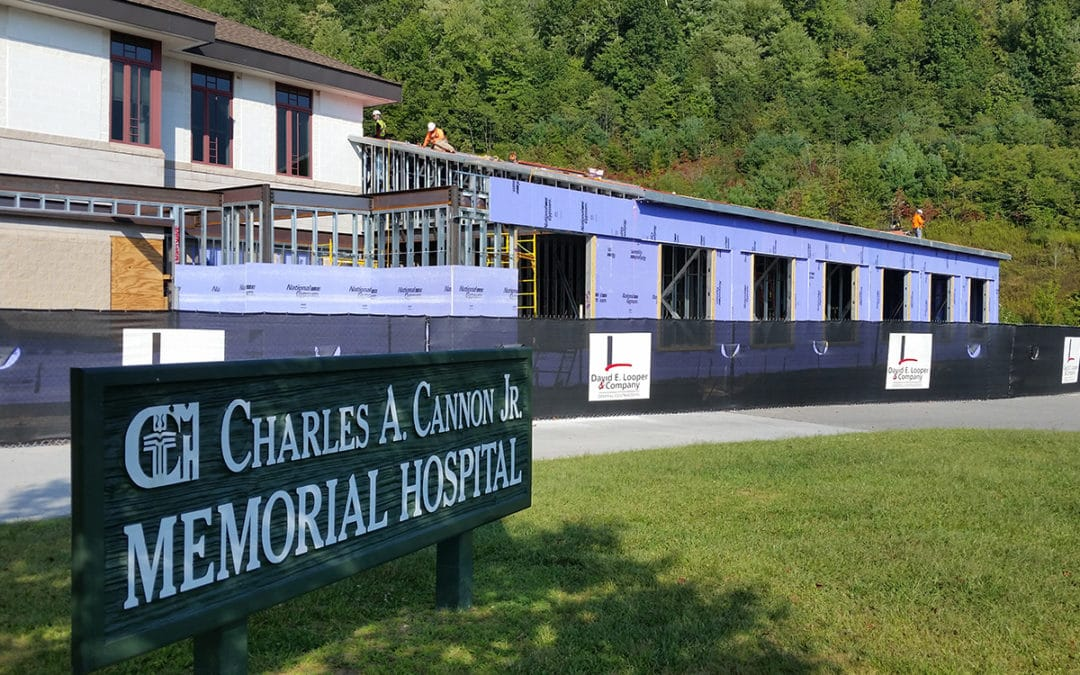 Cannon Memorial Hospital Expansion Update (Photos)