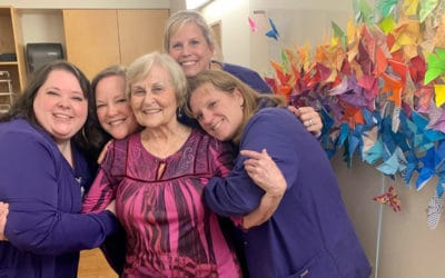 Wings of Hope butterfly exhibit brings beauty and color to cancer patients
