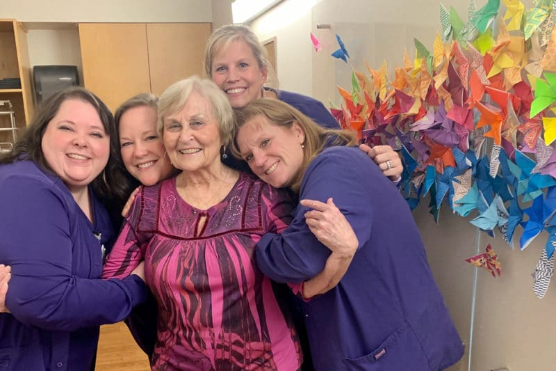 Photo Wings of Hope - Patient Ruby Harper
