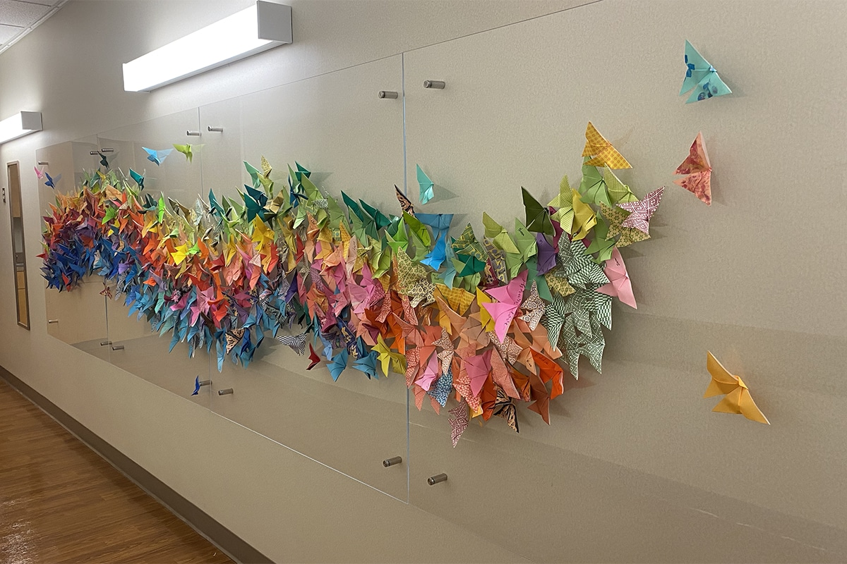 Photo: Wings of Hope Wall