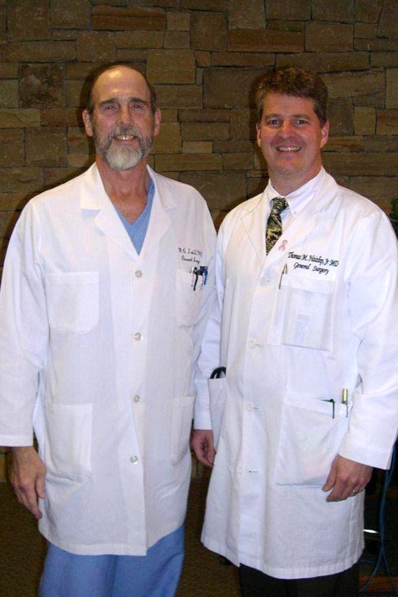 Drs Tate and Hazlip in 2012