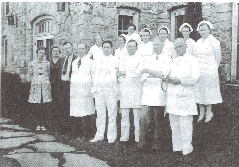 Dr. W.C. Tate and Staff
