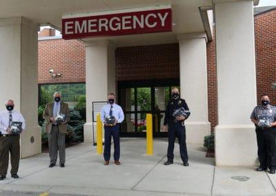ARHS donates masks to local law enforcement