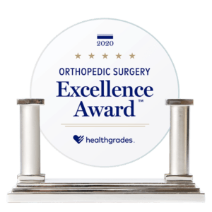 Healthgrades Orthopedic Surgery Excellence Award