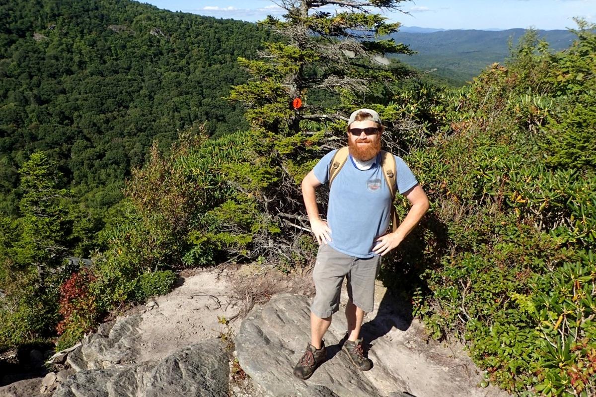 David Jackson Hiking Flatrock