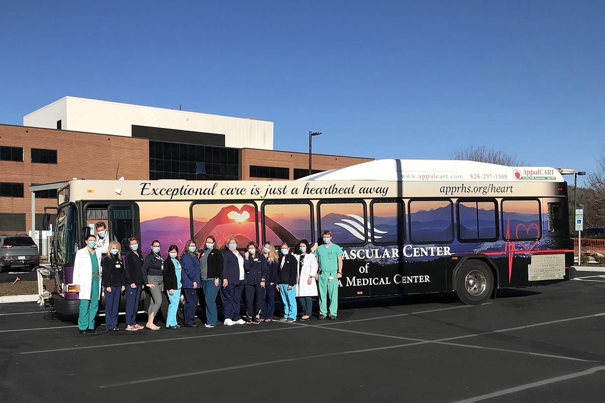 Heart & Vascular Appalcart bus