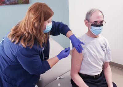 COVID-19 Vaccine Dr. Wolfe Photo