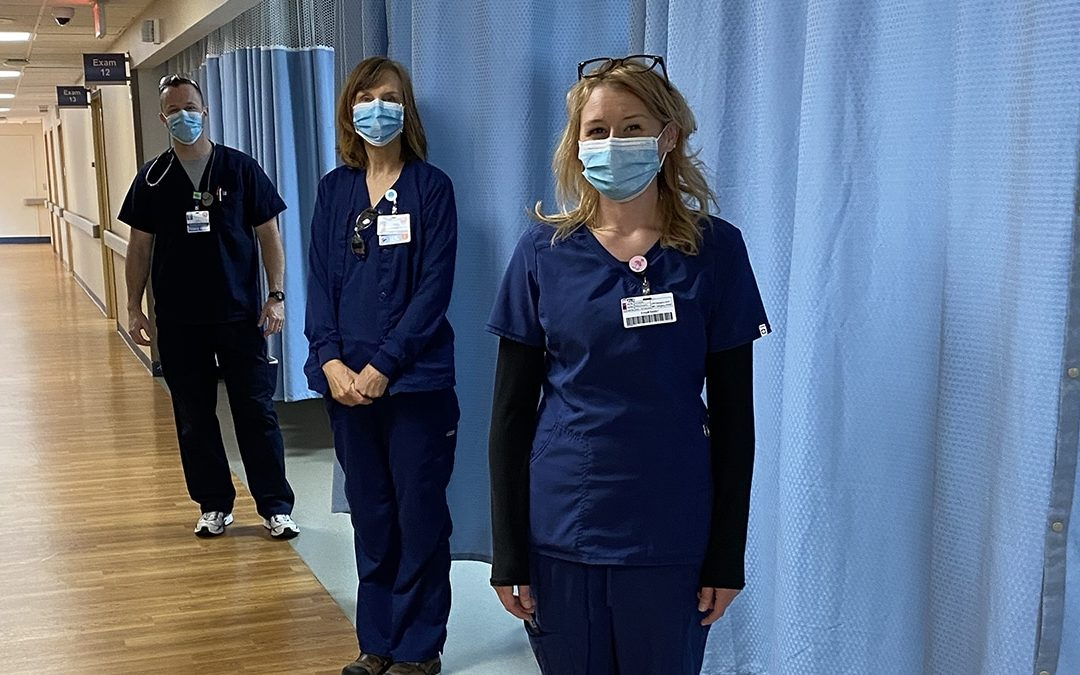 Appalachian Regional Healthcare System will continue to require masks inside facilities, according to current North Carolina and CDC guidance
