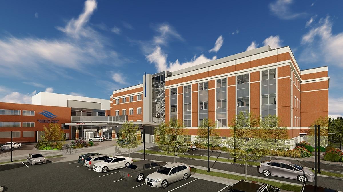 Watauga Medical Center Expansion Sketch