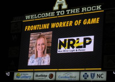 Image: NRLP Frontline Worker of the Game Jamey Ellison