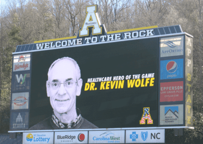 Image: NRLP Frontline Worker of the Game Dr. Wolfe