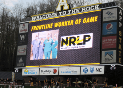 NRLP Image: Frontline Worker of the Game Respiratory Therapists