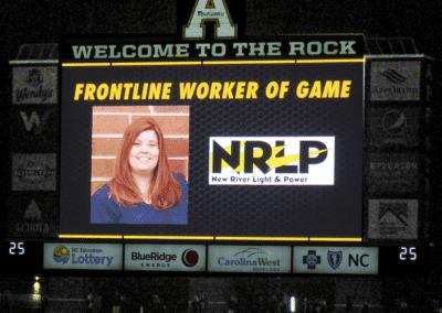 Image: NRLP Frontline Worker of the Game Crystal Minton
