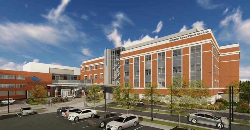 Photo: WMC Hospital Expansion Exterior_SchaeferName_1200x675