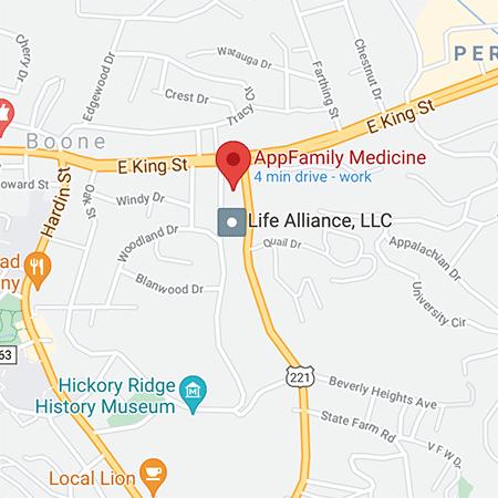 AppFamily Medicine Map