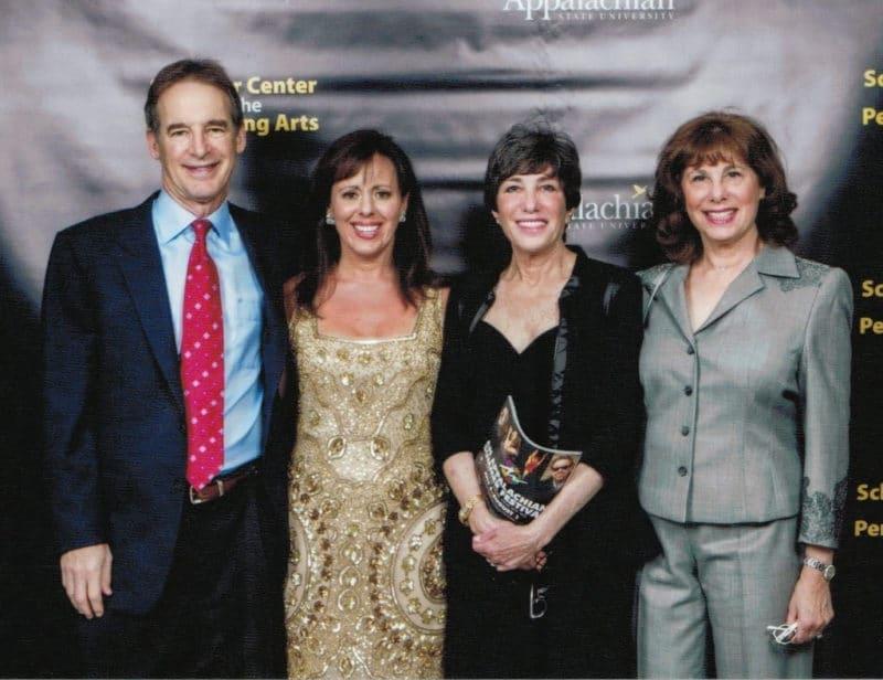 Photo: Steve Weishoff, Jamie and Bonnie Schaefer, Marla Schaefer