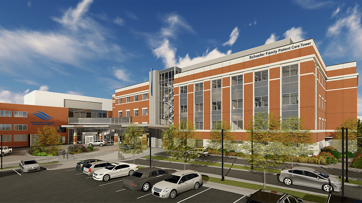 Schaefer Family Patient Care Tower