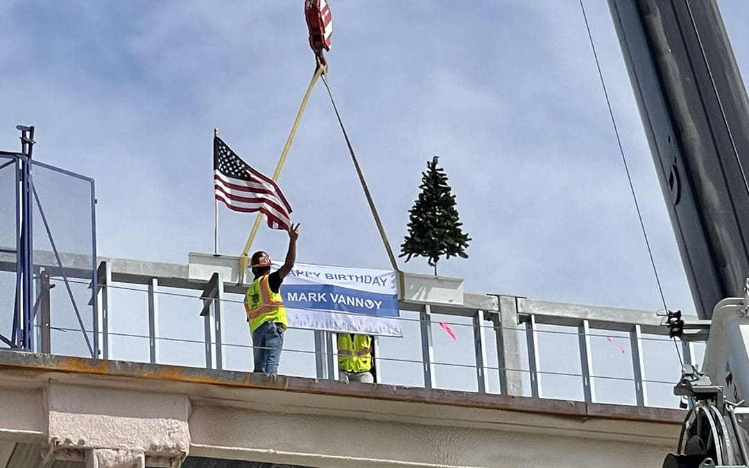 Topping Off Ceremony held at the Patient Care Tower