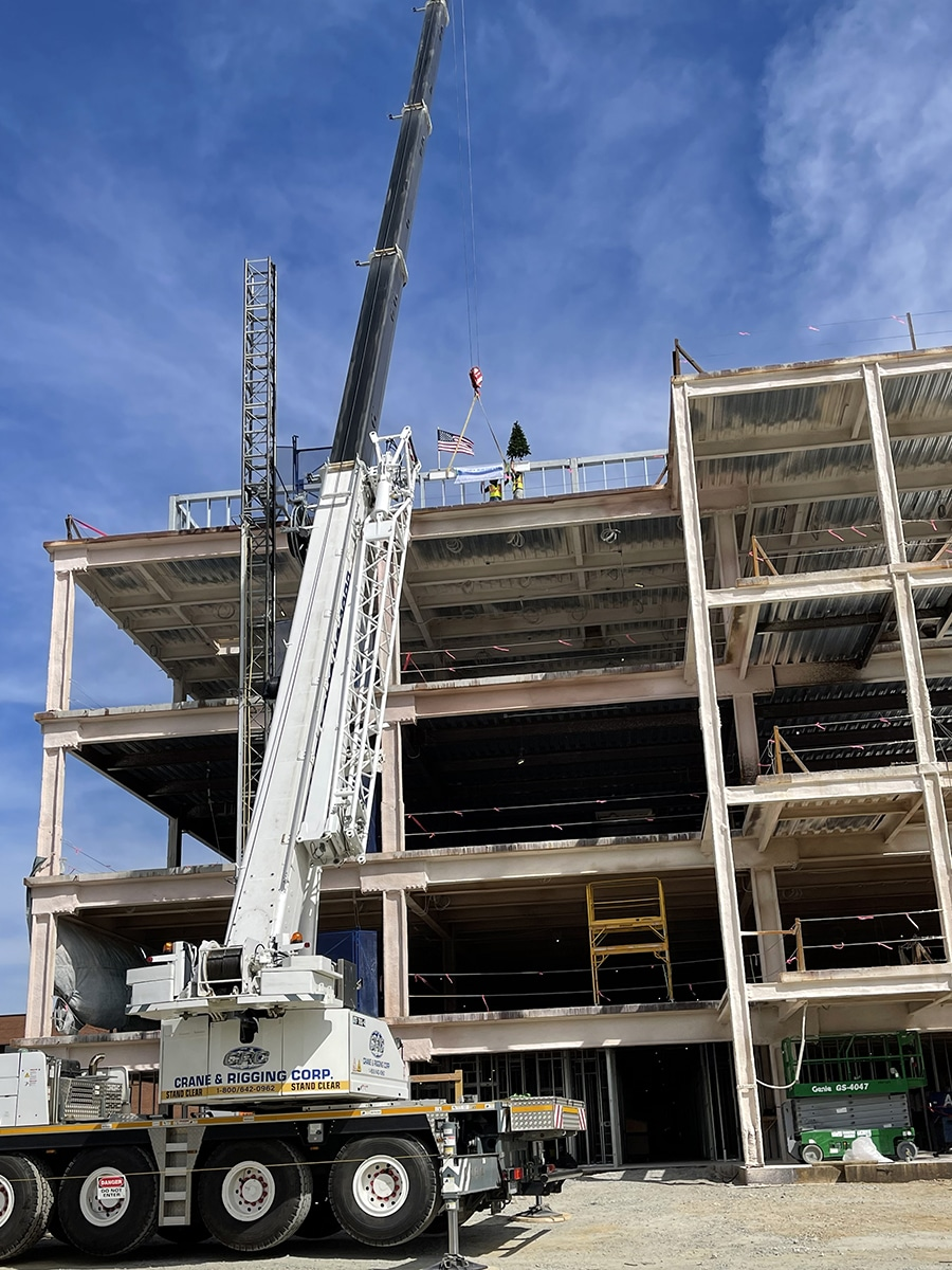 Image: WMC Topping off 3